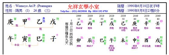 wismoyo chart
