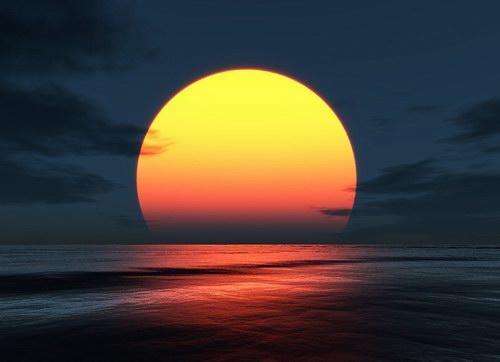 Matahari di Air