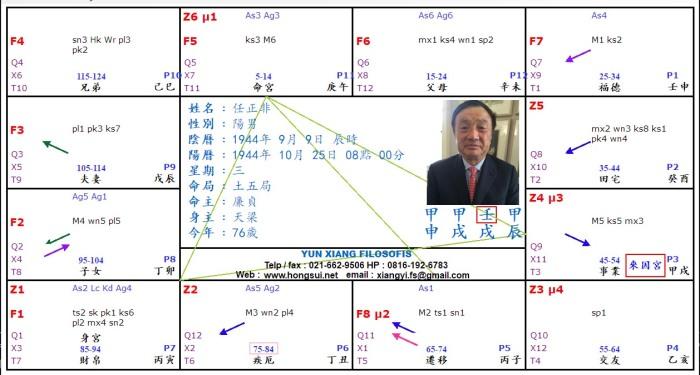 CEO Huawei Zw Chart